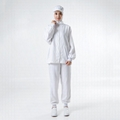 White Long Sleeve High-quality Food Factory Worker Uniform 1