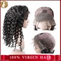 Straight Human Hair Wig Peruvian Virgin
