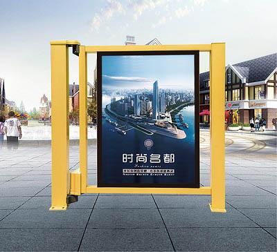 金凱達小區智能廣告小門P701TG 1