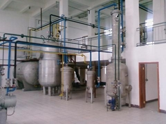 Subcritical Solvent extraction plant for wheatgerm oil