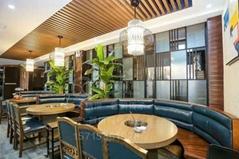 咖啡廳桌椅卡座沙發休閑區沙發卡座