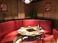 火鍋桌椅高檔理石火鍋桌隱形電磁