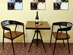 工业风沙发咖啡厅桌椅组合餐桌定制