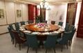 金屬軟包椅高檔仿實木椅餐廳椅子