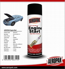 AEROPAK High Quality Low Temperature Of Engine Starting Spray( Engine Starter)