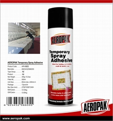 AEROPAK Temporary Spray Adhesive & Textile Spray Adhesive