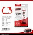 AEROPAK 85g Hi-Temp RTV Gasket Maker Silicone Sealant with Red/Black/Scarlet/Cop 4