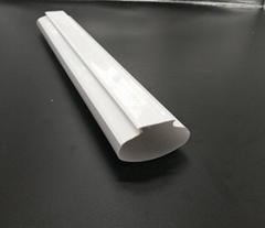 LED防水燈全塑PC雙色管外殼