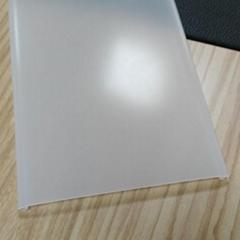 擠出加工定製塑料led擴散pc燈罩外殼