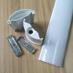 led全塑三防燈外殼套件戶外防水pc燈罩