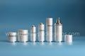 Hot Sales Luxury Lady Skin Care Treatment Acrylic Cream Jar Lotion Bottle 1