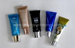 Skincare Aluminum Plastic Laminated Cosmetic Tube