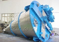 Twin screw conical mixer