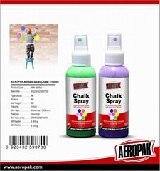 Aeropak Chalk Spray Pain