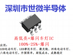 AP2400LED汽車大燈專用恆流驅動IC