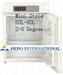 Mini Style 2 to 8 Degree Medical Refrigerators