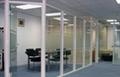大量批发玻璃隔断墙铝合金型材 2