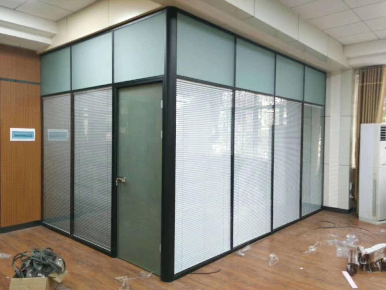 电动百叶玻璃隔断 4