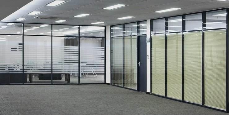 铝合金玻璃隔断 3