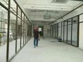 磨砂钢化玻璃隔断 2