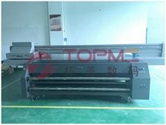 广州拓美大型UV玻璃彩绘打印机