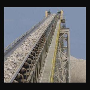 Conveyor belt for cement 1