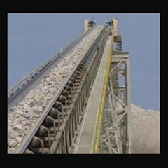 Conveyor belt for cement