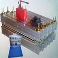 Hot splicing machine for rubber belt