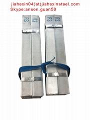 Hot rolled galvanized mild carbon steel flat bar