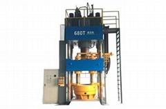 Four Cylinder Hydraulic Press Machine
