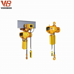 Vohoboo Brand Lifting Equipment 2Ton Electric Chain Hoist for Cran