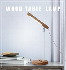 European desk lamp modern simple decorative wood table lamp romantic home lamps