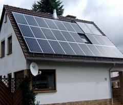Residential Solar System Tile Roof Mount