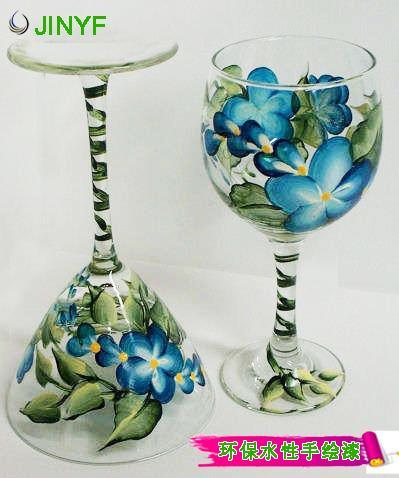 水性玻璃手绘漆 彩绘玻璃漆 2