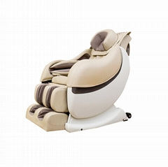 White Full Body Massage Chair 4d Zero Gravity Massage Chair
