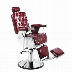 2018时尚舒适沙龙家具椅子斜倚液压理发椅
