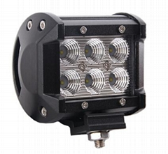 18w LED Off-road 4WD UTV Driving Lamp Work light LED light bar