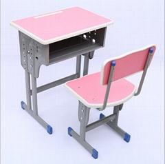 學校傢具單身儿童培訓桌學校儿童寫字桌課桌椅學生課桌椅