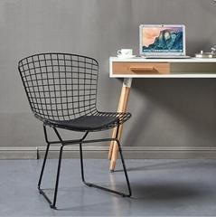 设计师家具铁艺美式餐厅椅