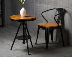 实木咖啡桌椅