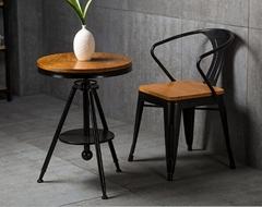 實木咖啡桌椅