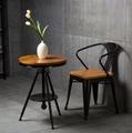 實木咖啡桌椅 2