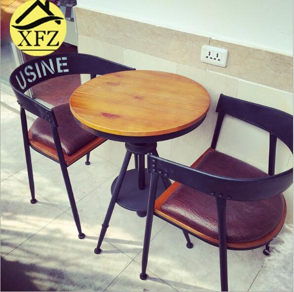 實木咖啡桌椅 3