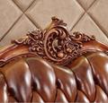 欧式皮沙发固体雕花客厅豪华别墅豪华包欧式真皮沙发 4