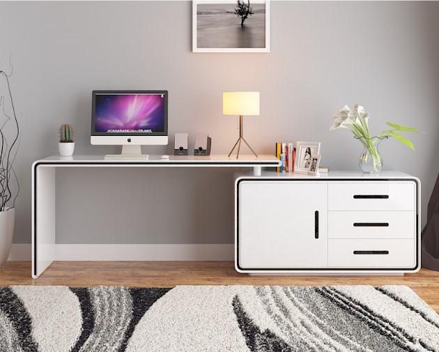 旋转式电脑桌 5