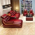 真皮沙发现代简约风格真皮客厅沙发组合 5