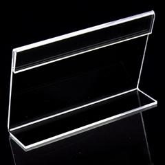 亚克力L形透明台卡桌牌