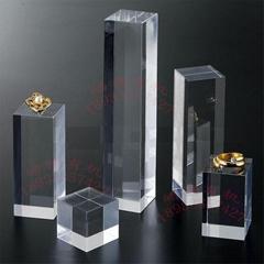亞克力水晶方塊展示台