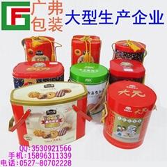 淮南市马口铁铁盒厂家  礼品铁盒  广弗包装有限公司