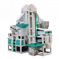 1 Ton Per Hour Capacity Combined whole set rice mill machine 2
